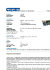 Chemtex - Model SKB-O - Poly-Zip Bag and Bucket Kits - Datasheet