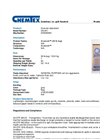 Chemtex Gran-Sorb™ - Model OIL041 - Industrial Absorbent - Datasheet