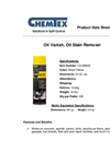 Chemtex - Model OILM9025 - Oil Vanish stainremover - Brochure