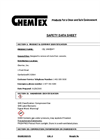 Chemtex - Model OILM9025 - Oil Vanish Stainremover - Safety Data Sheet