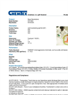 Chemtex - Model KIT1050 - Acid Spill Kit - Datasheet