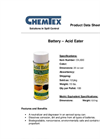 Chemtex - Battery Acid Eater - Datasheet