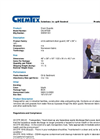 CHEMTEX - Model OILM7322 - Storm Water Drain Guard - Datasheet