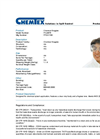 Chemtex - Model PCL0976 - Clear Goggles - Datasheet