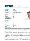 Chemtex - Model PCL0978 - Clear Goggles, Anti-Fog Lens - Brochure