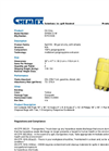 Chemtex - Model SPK95-O-W - Oil Only Spill Kit - Brochure