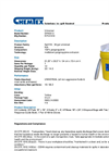 Chemtex - Model SPK30-U and SPK30-U-R - Universal Spill Kit - Datasheet