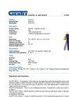 Chemtex - Model SPK14-O - Oil Only Spill Kit - Datasheet