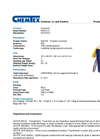 Chemtex - Model SPK14-U and SPK14-U-R - Universal Spill Kit - Datasheet