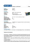 Chemtex - Model SKB-U - Universal Zipper Bag - Datasheet