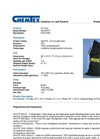 Chemtex - Model OILM7077 - Oil Only Spill Kit Sack - Datasheet