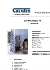 Chemtex - Model KIT1018 - Universal Cab Mount Spill Kit - Datasheet
