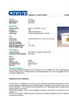 Chemtex - Model OILM7083 and OILM7083-R - Marine Dock Box Spill Kit - Datasheet