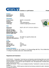 Chemtex - Model SKFB-O - Oil-only Foil Spill Kit - Datasheet