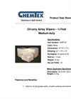 Chemtex - Model NWP101 - Airlay Wipers - Datasheet