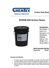 Chemtex Biorem2000 - Model OILM9031 - Surface Cleaner - Datasheet