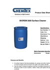 Chemtex Biorem2000™ - Model OILM9032 - Surface Cleaner - Datasheet