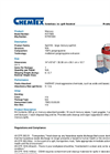 CHEMTEX - Model KIT7006 - Mercury Spill Kits - Datasheet