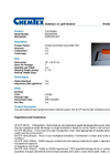 Chemtex - Model BOOM1008 - Containment Boom Tow Bridal - Datasheet