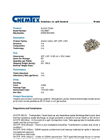 Chemtex - Model OILM087 - Anchor Chain - Datasheet