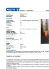 Chemtex - Model OILM259 - Bulk Head - Datasheet