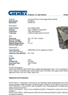 CHEMTEX - Model OILM6013 - Army Matting - Datasheet