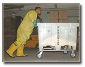 CHEMTEX - Extra Large Spill Carts on Wheels