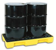 CHEMTEX - Model CON0111 - 2 Drum Spill Pallet, Low Profile, 32 Gal