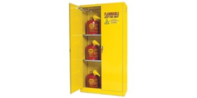 CHEMTEX - Yellow Flammables Safety Cabinets