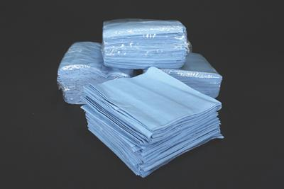 Chemtex - Model NWP351 - Blue Spunlace Wipes