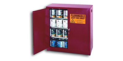 CHEMTEX - Model PI-32 - Red Paint & Ink Safety Cabinets