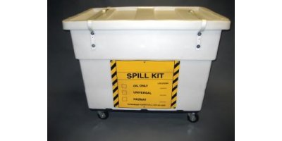 Chemtex - Model OILM7093 - Large Spill Cart On Wheels Universal Spill Kit