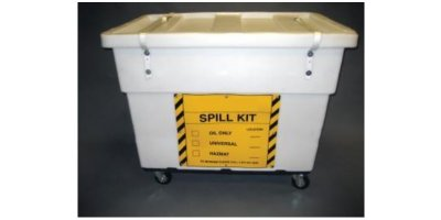 Chemtex - Model OILM7094 - Large Spill Cart On Wheels, Hazmat Kit
