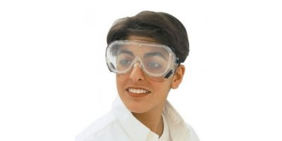 Chemtex - Model PCL0978 - Clear Goggles, Anti-Fog Lens