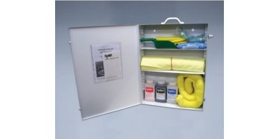 Chemtex - Model OILM7021 - Wall Mount Chemical/Solvent Spill Kit