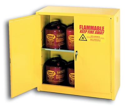 Chemtex - Model 1932 - Manual Close, 1 Shelf, 30 Gal, Flammables