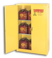 Chemtex - Model 4510 - Self Close, 2 Shelves, 45 Gal, Flammables