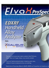 ElvaX Prospector - Model EDXRF - Handheld Alloy Analyzer - Brochure