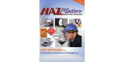 HazMatters - First Response to a Hazardous Substance Emergency Video Training Kit