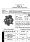 Model TRSE 32-20/50 - Single Stage Medium Vacuum Pumps – Brochure
