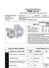 Model TRMB 25-30/32-50/75 - Single Stage Vari-Ported Medium Vacuum Pumps - Brochure