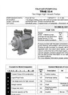 Travaini Pumps - Model TRHE 32-4 - Two-Stage Liquid Ring Vacuum Pump – Cut Sheet