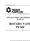 Rotary Vane Installation & Operations Manual