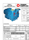 Travaini Pumps - Model TRMB40 - 110/150/200 - Brochure