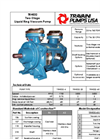Travaini Pumps - Model TRHE32 - Two-Stage Liquid Ring Vacuum Pump - Cut Sheet