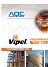 Vipel Corrosion Resistant Resins Guide - Brochure