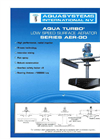 Model AER-GD - Fixed Low-Speed Surface Aerator Brochure