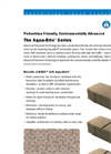 Aqua-Bric - Type 4 – Shapes – Brochure