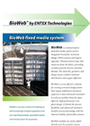 ENTEX Webitat - Third Generation Biological Fixed Media System - Datasheet