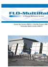 Flo-MultiRake - Coarse Bar Screen Brochure